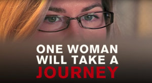 Cassie Jaye maakster van de documentaire 'The Red Pill'.