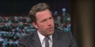 Ben Affleck in debat bij Real Time van Bill Maher met Sam Harris.