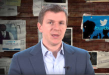 James O'Keefe van Project Veritas.