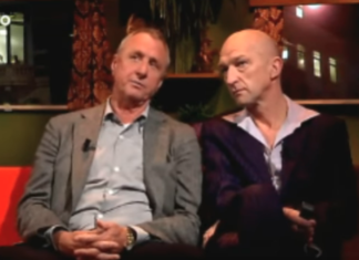 Johan Cruijff over Geert Wilders in Holland sport met Wilfried de Jong