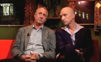 Johan Cruijff over Geert Wilders in Holland sport met Wilfried de Jong